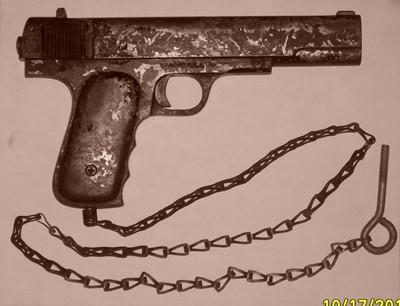 MacGlashan Coin Shooting Pistol