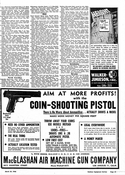 MacGlashan Coin Shooting Pistol Directions